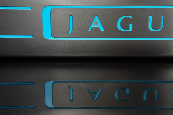 Jaguar XF Illuminated Door Sill Plates
